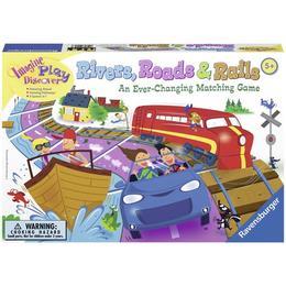 Joc de societate pentru copii si familie - Rauri, Drumuri si Cai Ferate Ravensburger