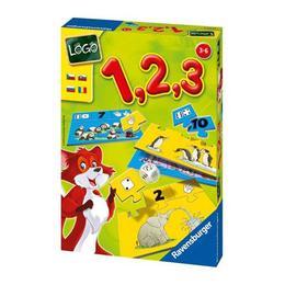 Joc educativ pentru copii tip puzzle 1, 2, 3 - Invatarea cifrelor- Ravensburger