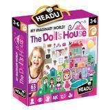 Joc Puzzle Headu Casa Papusii 62 piese