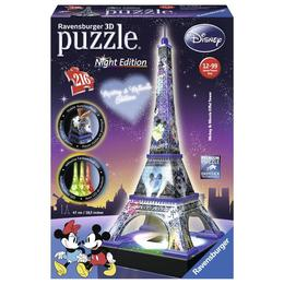 Puzzle 3D Turnul Eiffel Noaptea 216 piese, 47 cm Ravensburger