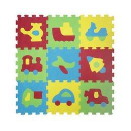 Covor puzzle Ludi din spuma pentru copii vehicule