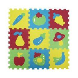 Covor puzzle Ludi din spuma pentru copii fructe