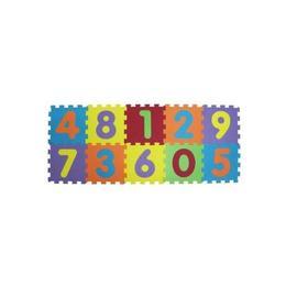 Covor puzzle Ludi din spuma pentru copii cifre 10 piese