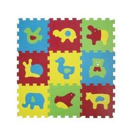 Covor puzzle Ludi din spuma pentru copii cu animale