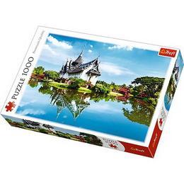 Puzzle clasic - Peisaj palat , Thailanda 1000 piese Nebunici