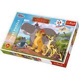 Puzzle clasic pentru copii - 24 piese Maxi Nebunici