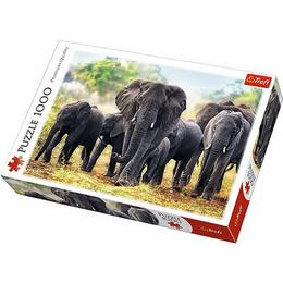 Puzzle clasic pentru copii si familie - Elefanti Africani 1000 piese