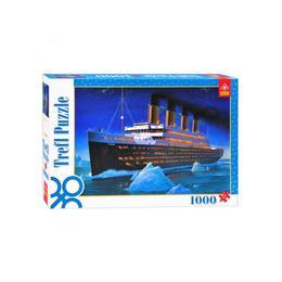Puzzle clasic pentru familie si copii - Titanic 1000 piese Nebunici