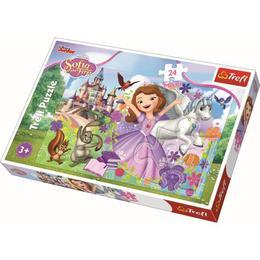 Puzzle clasic pentru copii - Printesa Sofia 24 piese Maxi Nebunici