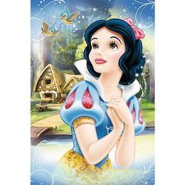 Puzzle clasic pentru copii - Alba ca Zapada,Printesele Disney 24 piese Maxi