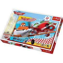 Puzzle clasic pentru copii - Avioane, Disney 24 piese Maxi Nebunici