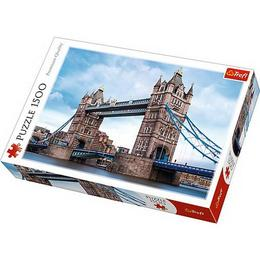 Puzzle clasic pentru familie si copii - The Towe Bridge Londra 1500 piese