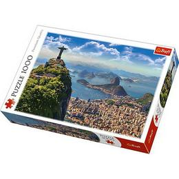 Puzzle clasic pentru familie si copii - Peisaj Rio de Janeiro 1000 piese