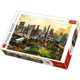 Puzzle clasic copii si familie - Peisaj Zgarie Nori Bangkok 3000 piese