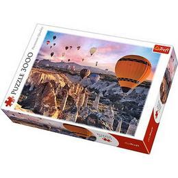 Puzzle clasic copii si familie - Baloane cu aer cald Cappadocia 3000 piese - Terfl