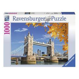Puzzle clasic pentru adulti si copii, 1000 piese Nebunici - Tower Bridge Londra