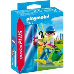 Playmobil Special Plus - Set figurine - Un alpinist utilitar - curatator de geamuri 16 piese