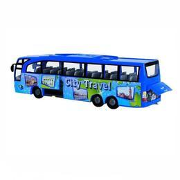 Autocar de jucarie Travel City Dickie Toys +3 ani Albastru