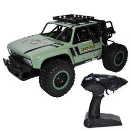 Masinuta Nebunici Jeep Safari cu telecomanda si suspensii, Scara 1:14, acumulator reincarcabil, Extreme Power