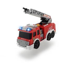 Masina de pompieri de jucarie cu lumini si sunete Dickie Toys 15 cm Rosie