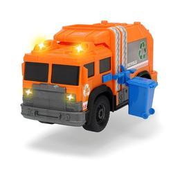 Vehicul utilitar masina de gunoi Dickie Toys 30 cm Portocaliu