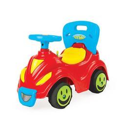 Masinuta de jucarie pentru copii fara pedale cu volan si claxon Nebunici