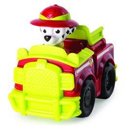 Set Figurina Paw Patrol Marhall cu vehicul de curse - Spin Master