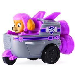 Figurina Paw Patrol Skye cu vehicul de curse - Spin Master