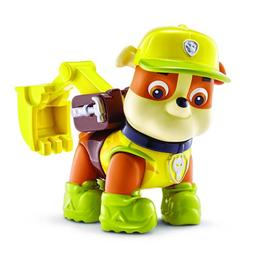 Set Figurina Rubble in actiune Paw Patrol - Spin Master