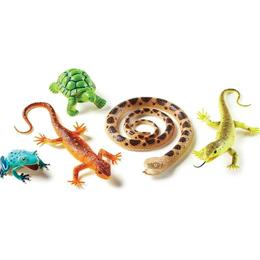 Set figurine de jucarie pentru copii, aspect realistic - Learning Resources - Reptile si amfibieni