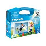 Playmobil Sport Actions - Set Playmobil Fotbalist in actiune 7 piese