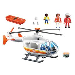 Playmobil City Life - Set figurine Elicopter medical