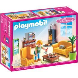 Playmobil Doll House - Set constructie cu figurine pentru copii - Sufrageria Papusilor