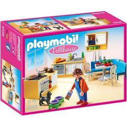 Playmobil Doll House - Set constructie cu figurine Playmobil - Bucataria Papusilor