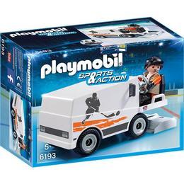 Playmobil Sport Action - Set figurine Playmobil - Masina de curatat gheata si figurina sofer +5 ani