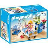 Playmobil City Life - Set constructie cu figurine - Cabinet de maternitate 43 piese