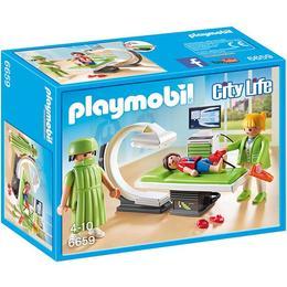 Playmobil City Life - Set constructie cu figurine - Cabinet de radiografie 32 piese