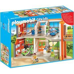 Playmobil City Life - Set constructie cu figurine Playmobil - Spitalul de copii