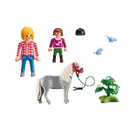 Playmobil Country - Set figurine - Lectia de echitatie 4 ani +
