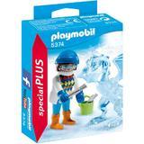Playmobil Figurines - Set figurine pentru copii - Un sculptor de gheata