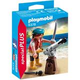 Playmobil Special Plus - Set figurine - Piratul cu sabie si tun 10 pcs