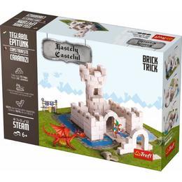 Set constructie din caramizi ceramice - Castelul Bastely, 200 caramizi ceramice Nebunici