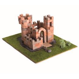 Set constructie din caramizi ceramice -Castel, 222 caramizi ceramice Nebunici