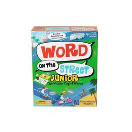 Joc educativ Educational Insights pentru invatarea cuvintelor Word on street Junior Nebunici