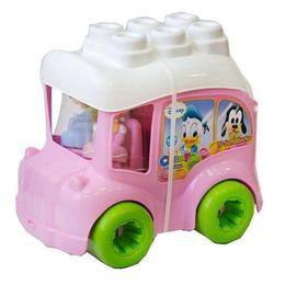 Clemmy - autobuz minnie cu cuburi - Clementoni