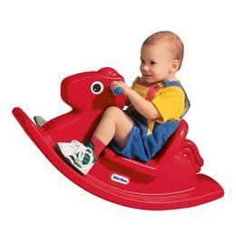 Balansoar de jucarie pentru copii de plastic Rosu