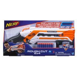 Blaster de jucarie Nerf Strike Elite Rough cut cu 8 sageti