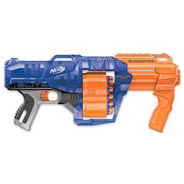 Blaster de jucarie Nerf Surgefire Albastru Nebunici