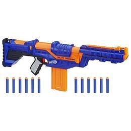 Blaster de jucarie Nerf Strike Delta Trooper Albastru Nebunici