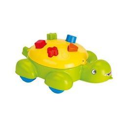 Sortator cu forme geometrice pentru copii sub forma de broasca testoasa Nebunici